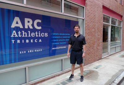 Welcome to ARC Athletics TriBeCa. (Photo courtesy of The Tribeca Citizen.)