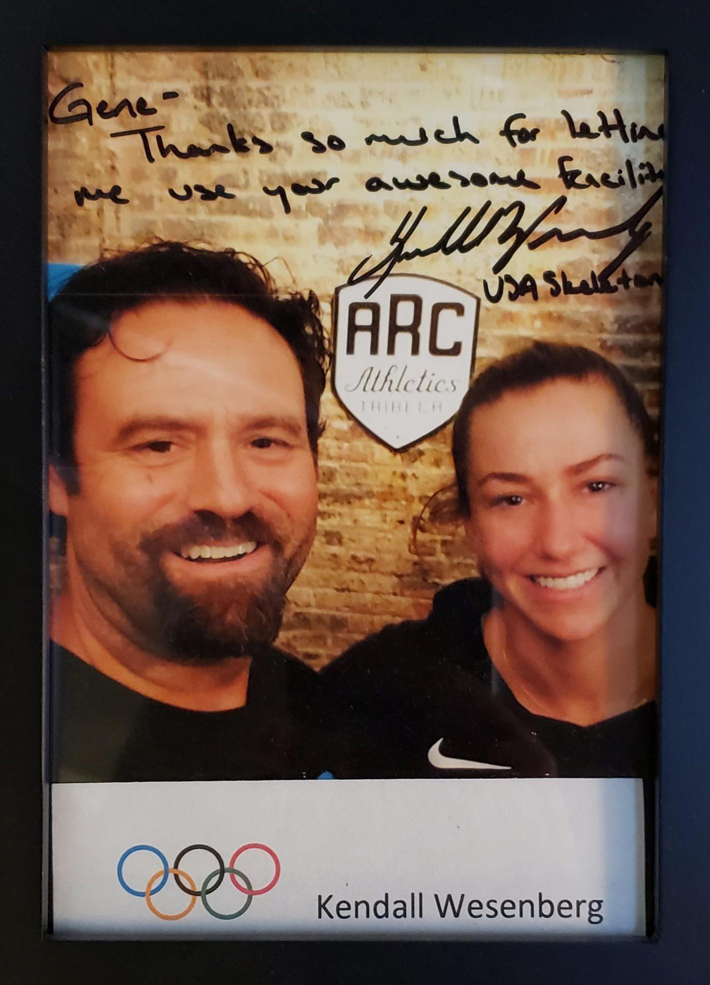 Kendall Wesenberg & Gene at ARC
